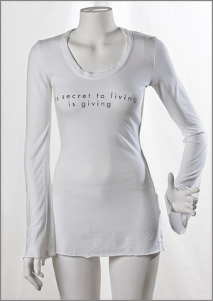 Miss A tunic w. message
