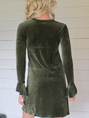 Antoinette Dress Kakigrön