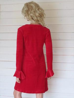 Antoinette Dress röd