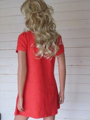 Charlotte Dress Ecofrotté Corall